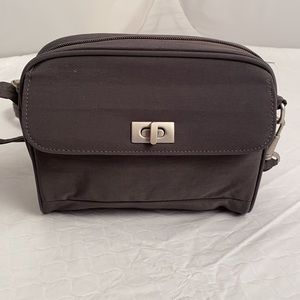 Travelon RFID gray crossbody bag